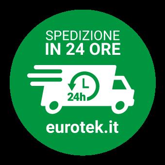 Badge Spedizioni in 24H - Eurotek